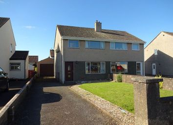 Thumbnail 3 bed semi-detached house for sale in Auchenkeld Avenue, Heathhall, Dumfries, Dumfries And Galloway.