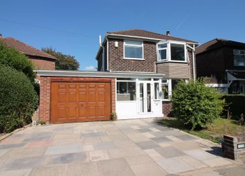 Thumbnail 3 bed detached house for sale in Lansdowne Road, Flixton, Urmston, Manchester