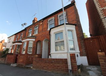 Thumbnail 3 bedroom end terrace house to rent in Kent Road, Reading