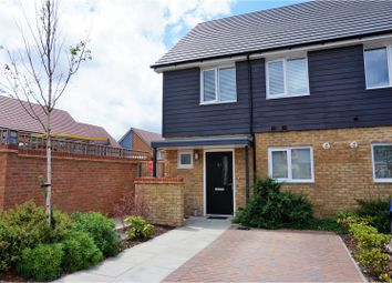 Thumbnail 2 bed semi-detached house for sale in Waterfall Crescent, Crawley