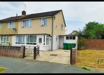 Thumbnail 3 bed semi-detached house for sale in Evenlode Road, Millbrook, Southampton