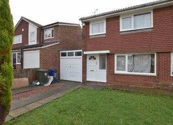 Thumbnail 3 bed semi-detached house to rent in Hersham Close, Newcastle Upon Tyne, Tyne And Wear