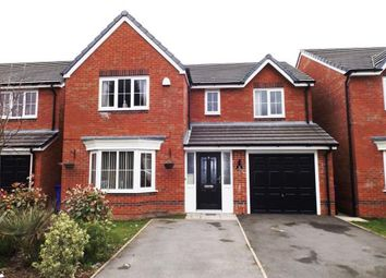 Thumbnail 4 bed detached house for sale in Greenwood Close, Audenshaw, Manchester, Greater Manchester