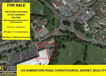 Thumbnail Light industrial for sale in Somerford Road, Christchurch