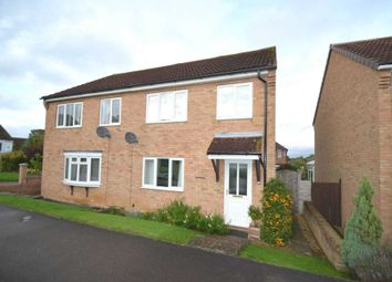Thumbnail 3 bed semi-detached house for sale in Christie Close, Newport Pagnell