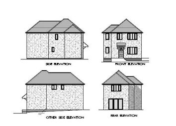Thumbnail 3 bed detached house for sale in Rodney Road, Ongar, Essex