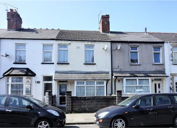 Thumbnail 2 bed terraced house for sale in Clive Road, Cardiff