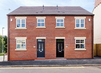 Thumbnail 2 bed semi-detached house for sale in Church Street, Silverdale, Newcastle-Under-Lyme