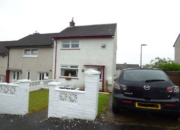 Thumbnail 2 bed end terrace house for sale in Burns Road, Greenock