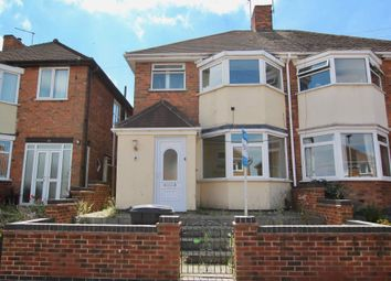 Thumbnail 4 bed semi-detached house for sale in The Parkway, Leicester