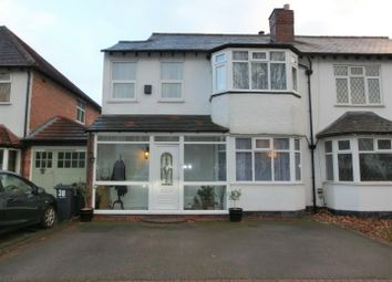 Thumbnail 3 bedroom semi-detached house for sale in Etwall Road, Hall Green, Birmingham