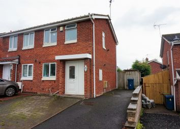 Thumbnail 2 bed semi-detached house for sale in Brookhouse Way, Stafford