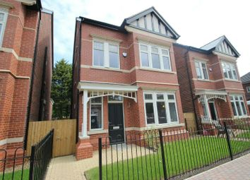 Thumbnail 4 bed detached house for sale in Harboro Road, Sale