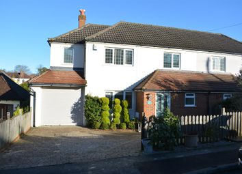 Thumbnail 4 bed semi-detached house for sale in Grosvenor Road, Epsom