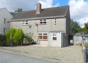 Thumbnail 3 bed semi-detached house for sale in Winch Crescent, Haverfordwest, Pembrokeshire