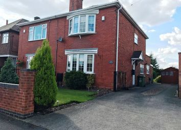 Thumbnail 3 bed semi-detached house for sale in Oakfield Avenue, Warsop, Mansfield