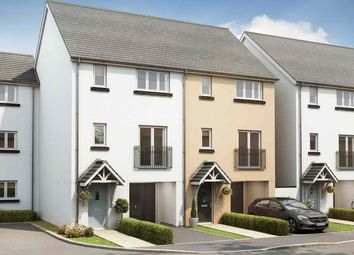 """Thumbnail 3 bed town house for sale in """"The Hartwell"""" at Exeter Road, Newton Abbot"""
