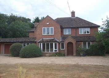 Thumbnail 5 bed detached house to rent in Upper Lambourn, Hungerford