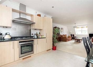 Thumbnail 3 bed flat for sale in Bentley Place, 57-59 Baker Street, Weybridge, Surrey