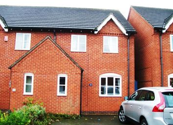 Thumbnail 3 bed semi-detached house to rent in Park Road, Ratby, Leicester