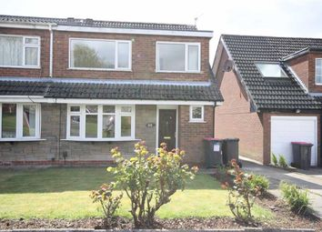 Thumbnail 3 bedroom semi-detached house to rent in Leafield Drive, Worsley, Manchester