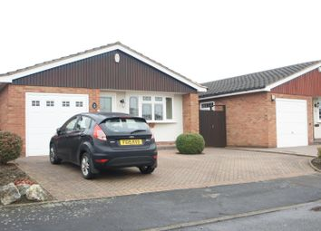 Thumbnail 2 bedroom detached bungalow for sale in Elm Close, Groby, Leicester