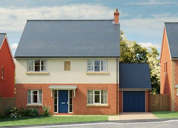 Thumbnail 4 bed detached house for sale in The Hedgerows Grove Crescent, Woore