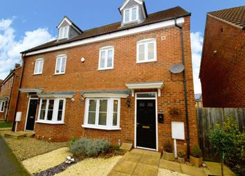 Thumbnail 4 bed semi-detached house for sale in Robins Crescent, Witham St Hughs, Lincoln