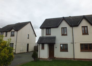 Thumbnail 3 bedroom end terrace house for sale in Honeyborough Grove, Neyland, Milford Haven