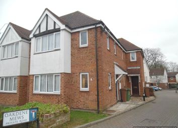 Thumbnail 1 bed end terrace house for sale in Oakdene Mews, Sutton