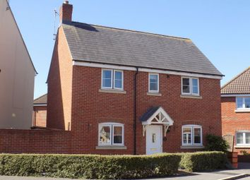 Thumbnail 3 bed detached house for sale in Jason Close, Swindon