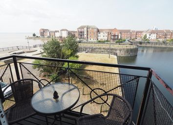 Thumbnail 3 bed flat for sale in Lock Keepers Court, Victoria Dock, Hull, East Yorkshire