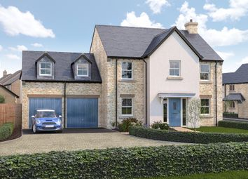 Thumbnail 5 bed detached house for sale in Cote Road, Aston, Bampton
