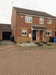 Thumbnail 2 bed terraced house for sale in Findon Close, Kingswood, Hull