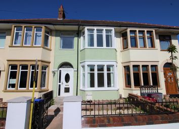 Thumbnail 3 bed terraced house to rent in Kildare Road, Blackpool, Lancashire