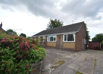 Thumbnail 2 bed semi-detached bungalow for sale in Hall Cliffe Road, Horbury, Wakefield