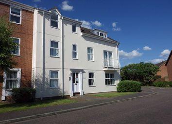 Thumbnail 1 bed flat to rent in Moorhen Court, Aylesbury, Buckinghamshire