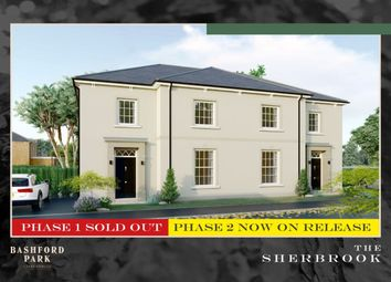 Thumbnail 4 bed semi-detached house for sale in Bashford Park, Carrickfergus