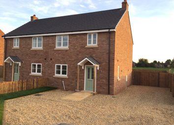 Thumbnail 3 bed semi-detached house to rent in Sutton Road, Walpole Cross Keys, King's Lynn