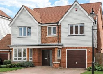 Thumbnail 4 bed detached house for sale in Kingfishers, Fleet, Hampshire
