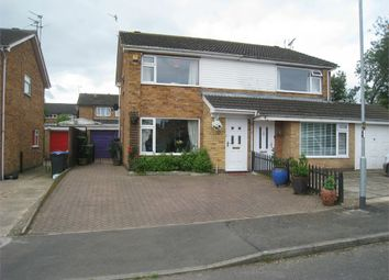 Thumbnail 3 bedroom semi-detached house for sale in Whitby Close, Broughton Astley, Leicester