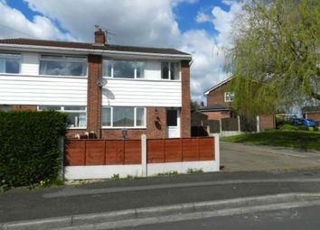 Thumbnail 3 bedroom semi-detached house to rent in Marlbrook Drive, Westhoughton, Bolton