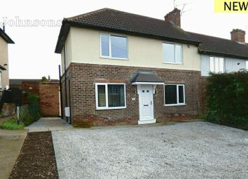 Thumbnail 3 bed end terrace house for sale in Mansfield Crescent, Armthorpe, Doncaster.