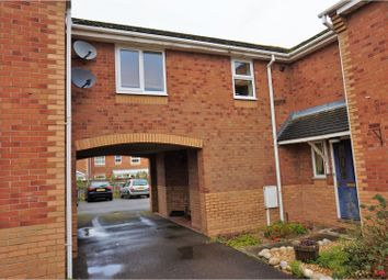 Thumbnail 1 bed terraced house for sale in Anson Close, Skellingthorpe, Lincoln