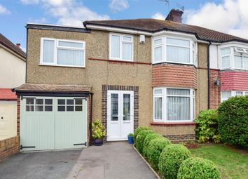 Thumbnail 4 bed semi-detached house for sale in Dennis Road, Gravesend, Kent