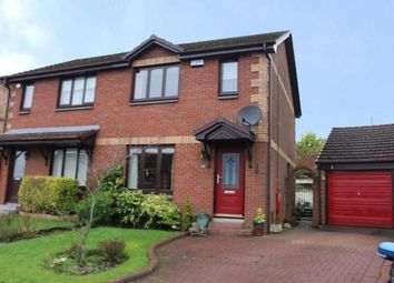 Thumbnail 3 bed semi-detached house for sale in Letham Grange, Cumbernauld, Glasgow, North Lanarkshire