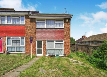 Thumbnail 3 bedroom end terrace house for sale in Morvale Close, Belvedere