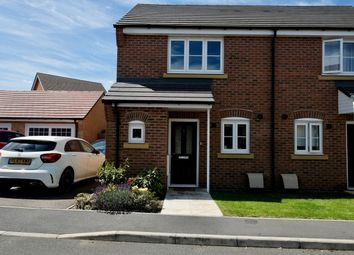 Thumbnail 2 bedroom semi-detached house for sale in Roper Close, Blaby, Leicester