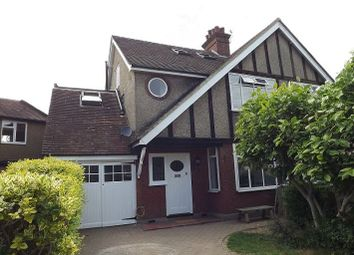 Thumbnail 4 bed semi-detached house to rent in Lynton Avenue, St.Albans