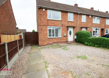 Thumbnail 3 bedroom town house for sale in Allenwood Road, Leicester